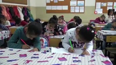 kiz cocugu -  Suriyeli minik Rana, savaşı ve güvenli yaşamı resmetti