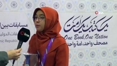 - Türk hafız Feyza Nergiz, Kur'an-ı Kerim yarışmasında dünya ikincisi oldu
