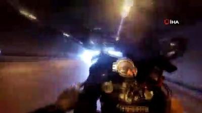 İstanbul'da motosikletli magandanın sevgilisiyle tek teker terörü kamerada