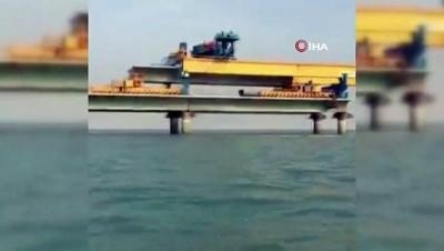 - Mısır'ı Kızıldeniz Üzerinden Suudi Arabistan'a Bağlayacak Köprünün İnşası Hızla Sürüyor