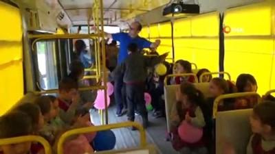'Motivasyon otobüsü'nde seminer heyecanı