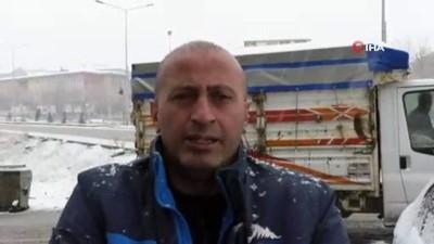 Yurdun bazı bölgelerinde kar yağışı etkili olmaya devam ediyor
