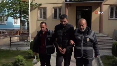 hirsiz -  18 yıl hapis cezası bulunan şahıs, sekizinci hırsızlığını yapamadan yakalandı