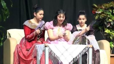 """kiraathane -  """"Başakşehirli Genç Yıldızlar Sahnede"""" tiyatro festivalinde final heyecanı"""