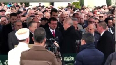 Cumhurbaşkanı Erdoğan eski İTO Başkanı Atalay Şahinoğlu'nun cenazesine katıldı