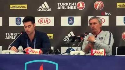 """Svetislav Pesic: """"Play-off'larda fiziksel ve duygusal açıdan kendinizi kontrol etmelisiniz"""""""