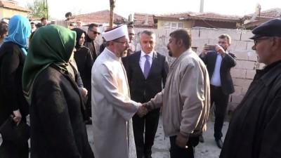 bassagligi - Ali Erbaş, Zeynep Esin'in ailesini ziyaret etti - KIRKLARELİ