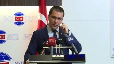 Arreaza: '(Türkiye ve Venezuela) Zor dönemde başlayan iş birliği, en üst seviyeye çıkmak zorunda' - ANKARA