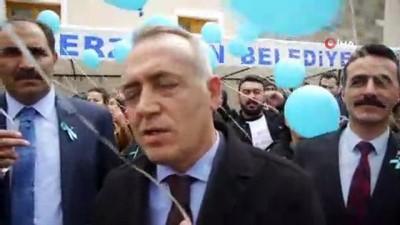 eylem plani -  Erzincan'da 'Otizm İçin Mavi Işık Yak' projesi