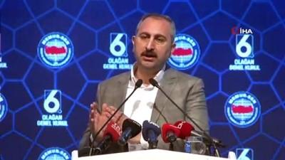 teror orgutu -  Adalet Bakanı Abdulhamit Gül: 'Teröre karşı tüm insanlık el birliğiyle ortak bir şekilde mücadele etmelidir'