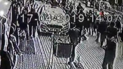 Alacak verecek meselesi yüzünden işlenen cinayetin görüntüleri ortaya çıktı
