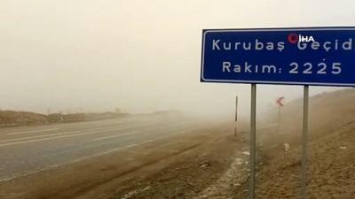 Güzeldere Geçidi'nde yoğun sis: Sürücüler yoğun sis nedeniyle zor anlar yaşıyor
