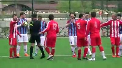 Trabzon İşitme Engelli Takımı'nın galibiyet sevinci