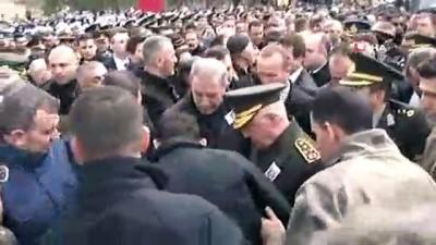 teror orgutu -  CHP Lideri Kılıçdaroğlu'na şehit cenazesinde saldırı