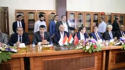 - Irak-Türkiye Ticaret Forumu Erbil'de Başladı