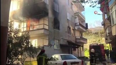 itfaiye araci - Mangal yakayım derken evi yaktı