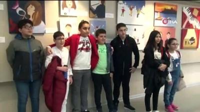 - 23 Nisan'da öğrencilerden anlamlı proje - Ortaokul öğrencileri kanser hastası çocuklar için 'Umut' oldu