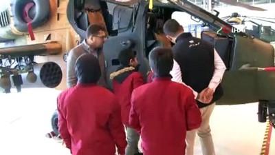 Öğrenciler Atak, Anka ve Hürkuş'u inceledi