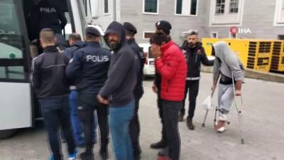 Samsun'da 'torbacı' operasyonunda 12 kişi hastaneye sevk edildi