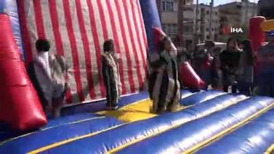 Aydın Büyükşehir, 23 Nisan'ı çocuklarla şenlik havasında kutladı