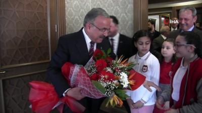 Başkan Hilmi Güler, koltuğunu ikinci sınıf öğrencisine devretti