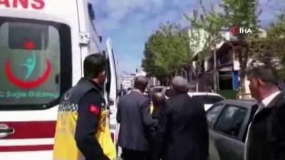 Bilecik'te belediye meclis üyesine araba çarptı