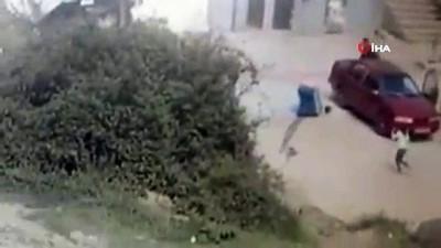 Bursa'da kahreden görüntü... 1 yaşındaki çocuğun feci ölümü güvenlik kamerasına yansıdı