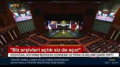 recep tayyip erdogan - Cumhurbaşkanı Erdoğan'dan 1915 mesajı!