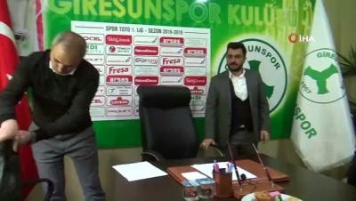 devre arasi - Erkan Sözeri, Giresunspor'a imzayı attı