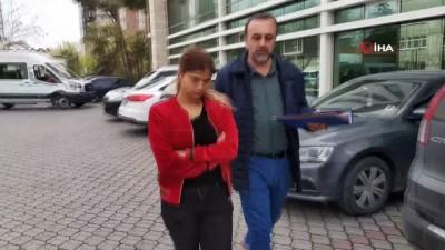 adliye binasi -  Hırsızlık suçundan 17 yakalama ve 14 yıl hapis cezası bulunan genç kadın yakalandı