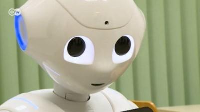 Alman profesörün robot asistanı
