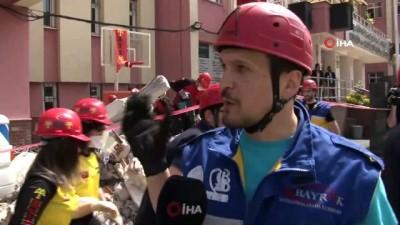 saglik ekipleri -  Bayrampaşa'da nefes kesen deprem tatbikatı