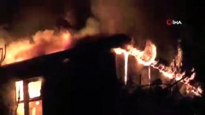 trol -  Kemer'de otelin personel lojmanında yangın