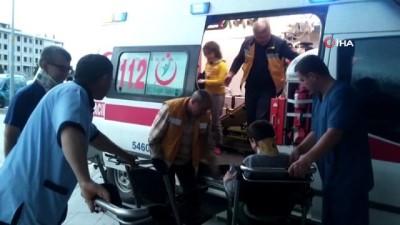 Konya'da meydana gelen iki ayrı kazada 4 kişi yaralandı