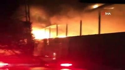 trol -  Kumaş katlama fabrikası alev alev yandı