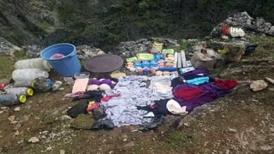 elektrik kablosu -  Tunceli'de 3 girişli mağarada terörist cesedi ele geçirildi