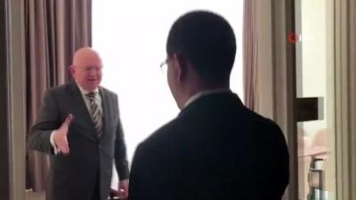 - Rus Diplomat İle Venezuela Dışişleri Bakanı Arasında Samimi Diyalog