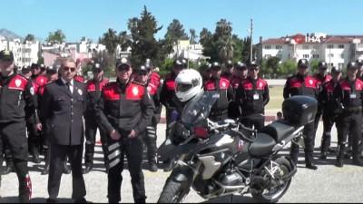 narkotik -  Yunus timleri dünyayı eğitiyor...Eğitimlere Türkiye'nin değişik illerinden gelen 48 motosikletli polis katıldı