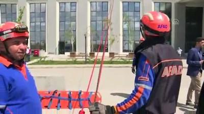 sivil savunma - Sağlık Bakanlığında ilk yardım ve kurtarma tatbikatı - ANKARA
