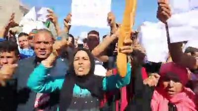 tarim iscisi - Tunus'ta 12 işçinin ölümüne neden olan kaza protesto edildi - SİDİ BUZEYD