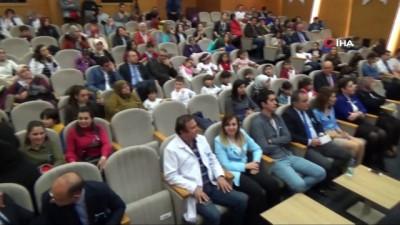 Isparta Şehir Hastanesi'nde Otizm farkındalık etkinliği