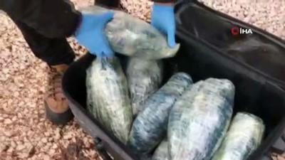polis kamerasi -  Kahramanmaraş polisi valizlere gizlenmiş 15 kilo uyuşturucu ele geçirdi