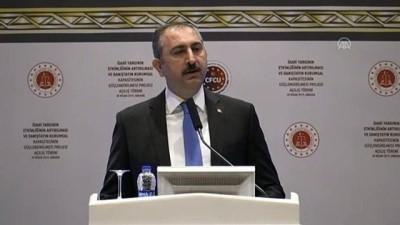 dogus - Adalet Bakanı Gül: 'İnsanın doğuştan gelen hak ve özgürlüklerini dikkate almadan hukuku tanımlayamayız' - ANKARA