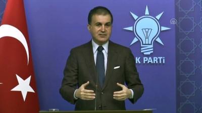 AK Parti Sözcüsü Çelik: 'Avrupa'nın geleceğinden de kendimizi sorumlu görüyoruz' - ANKARA