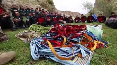 mel b - İHH Arama Kurtarma ekibinin eğitim çalışmaları - GAZİANTEP