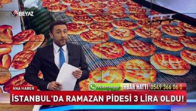 İstanbul'da Ramazan Pidesi 3 lira oldu