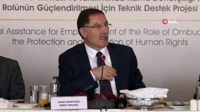 Malkoç: 'Halkımızın hak arama konusundaki çekincelerini gidereceğiz'