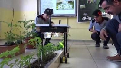 Öğrenciler, tarım amaçlı 'Yapay Zeka' sistemini geliştirdi