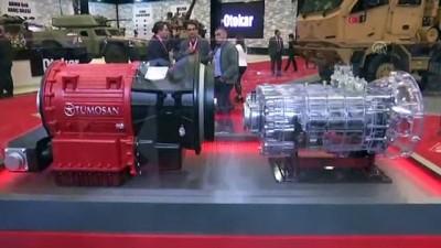 Paletli zırhlıları taşıyacak yerli motor IDEF'te - İSTANBUL