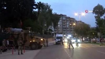 Sıcak çatışmaların yaşandığı Suriye'ye askeri sevkiyat yoğunlaştı